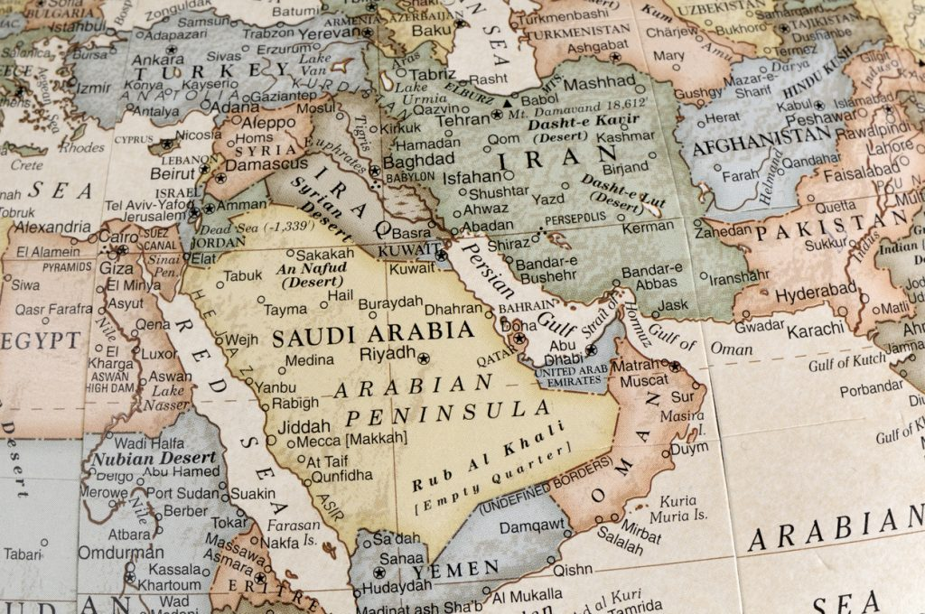 Middle East Map.Trump And The New Map Of The Middle East