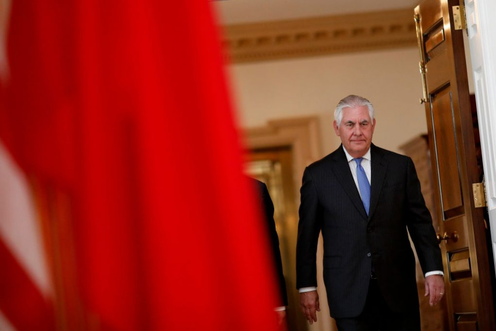 USA secretary of state to visit China