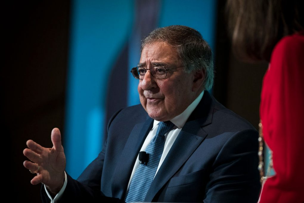Leon Panetta at the Hudson Institute on October 23, 2017.