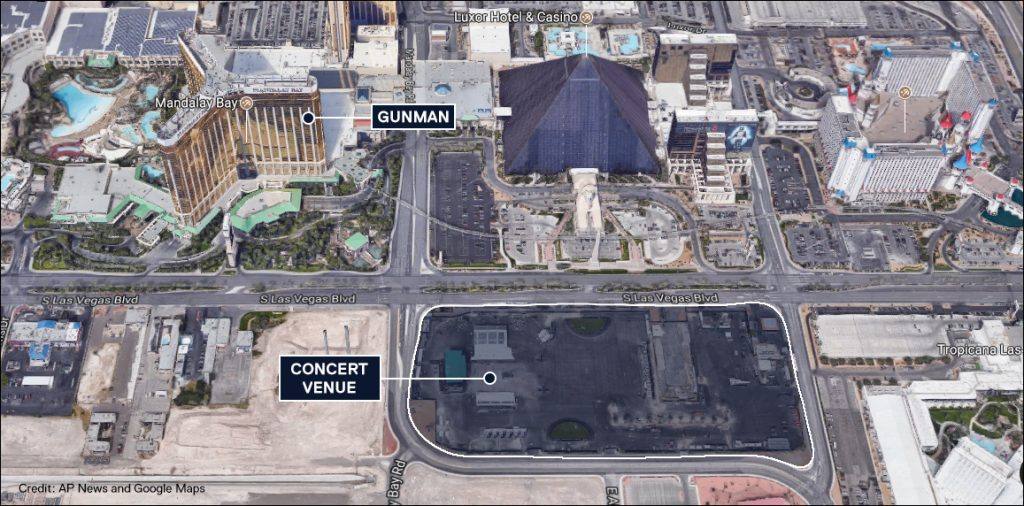 las vegas map