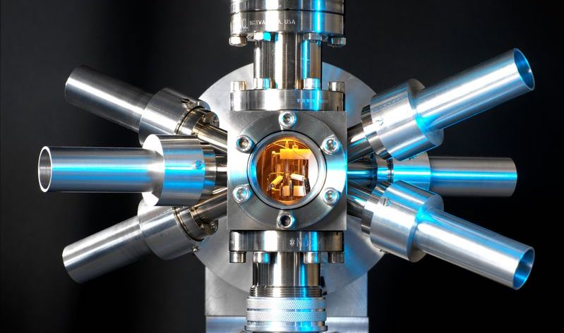 A Strontium atomic clock at the National Physical Laboratory in Teddington, England.