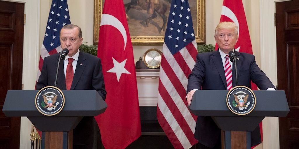 Presidents Trump and Erdogan
