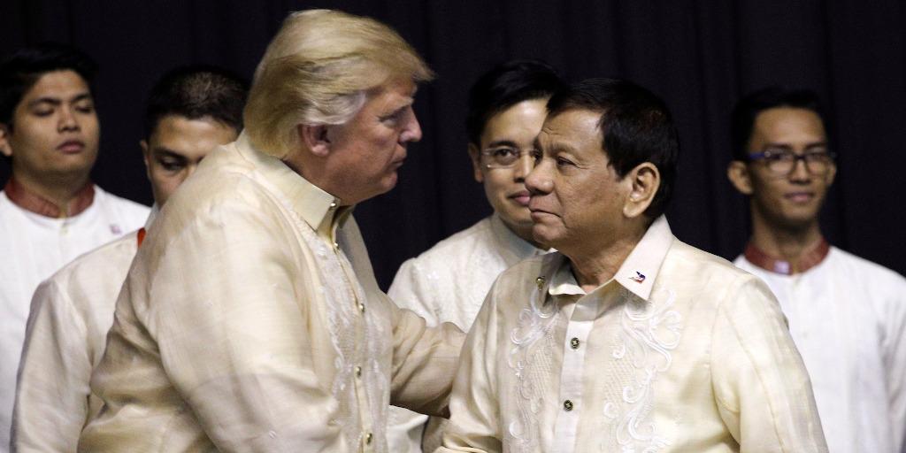 Trump and Duterte meet in Manila