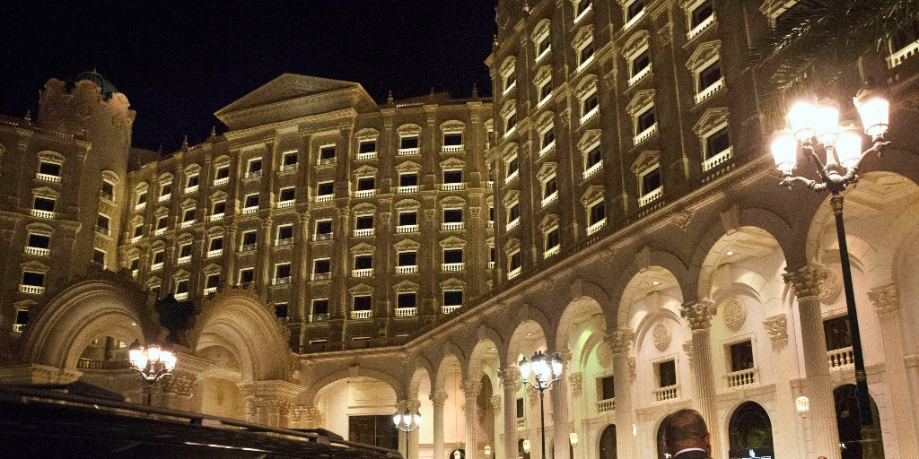The Ritz-Carlton hotel in Riyadh