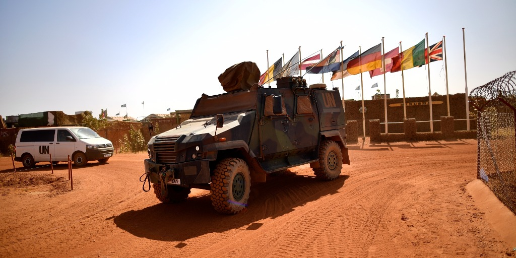 UN Troops in Mali