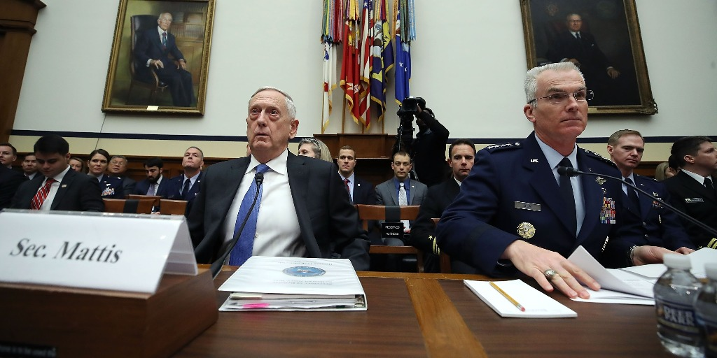 Mattis defends plans for new nuclear capabilities