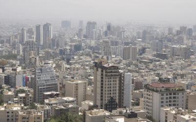 View of Northern Tehran, Iran