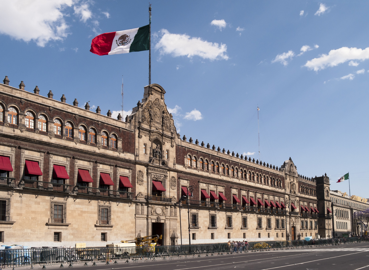 Mex National Palace - Mexico's Strategic Security Problem