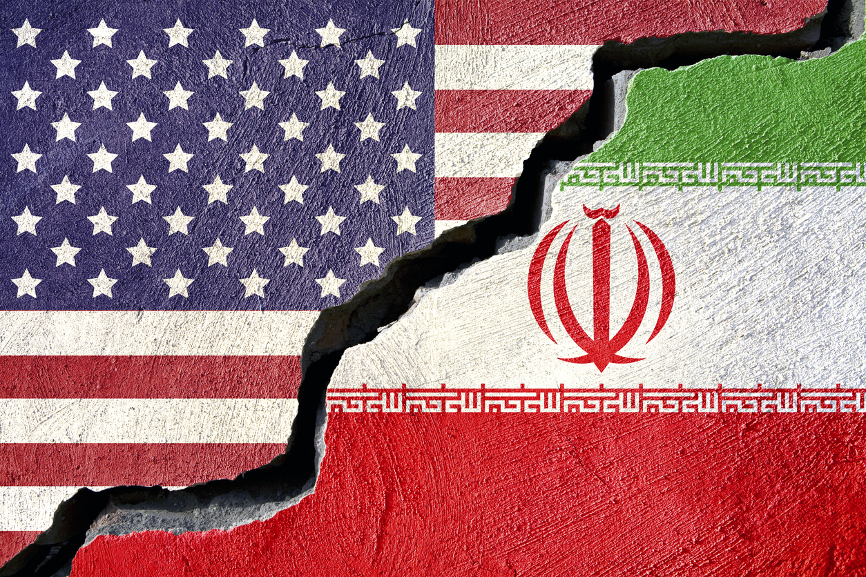 US Iranflags - Is the Maximum Pressure Campaign Working with Iran?