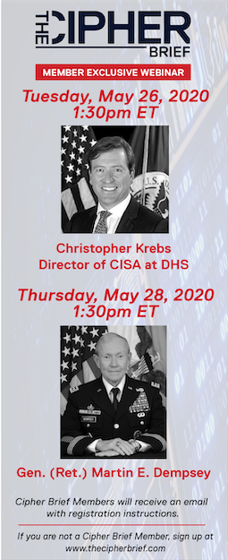 Christopher Krebs and General Martin Dempsey